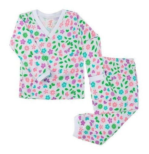 Kit 4 Roupa De Dormi Pijama Infantil Menino Menina Algodão