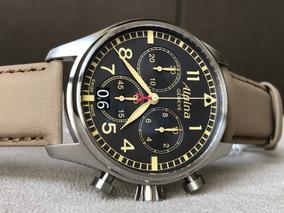 Relógio Alpina Startimer Chronograph Big Date Al-372bbgr4s6