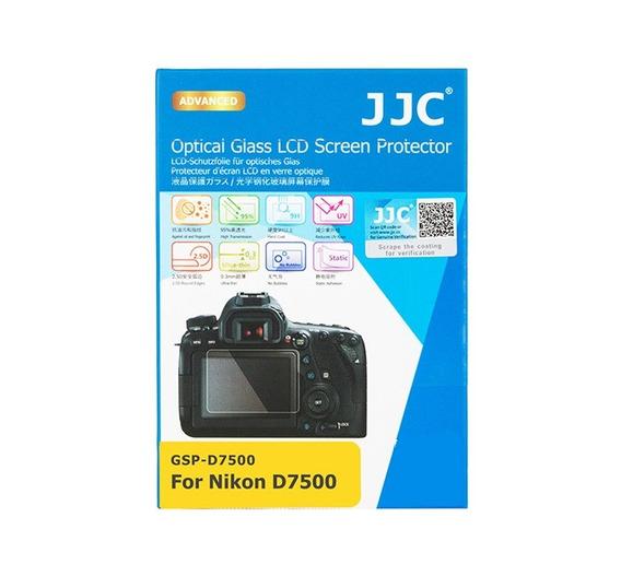 Protetor De Vidro Lcd Câmera Jjc Gspd7500 Nikon D7500