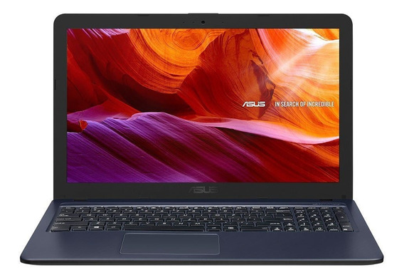 Notebook Asus Dual Core 4gb 500gb W10 Tela 15.6 X543mago595t