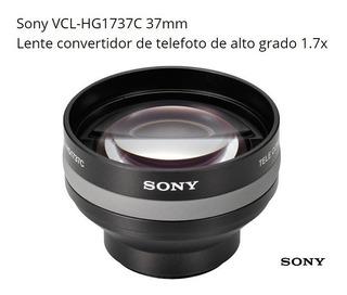 Lente Sony Telefoto Zoom X1.7 De 37mm Foto Vídeo Semi Nuevo