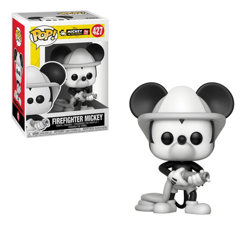 Figura Funko Pop Disney Mickey's 90th - Firefighter Mickey 4