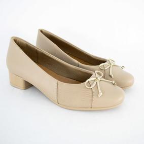 616f908139 Sapato Usaflex Ab6804 Linha Carejoanetes Avelã 100% Original