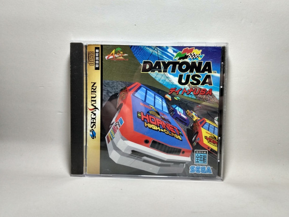Daytona Usa - Original Japonês - Sega Saturn