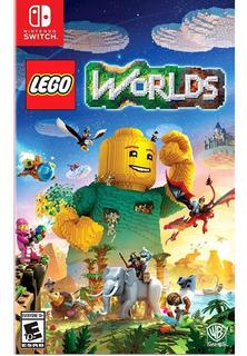 Lego Worlds Switch Mídia Física Lacrado