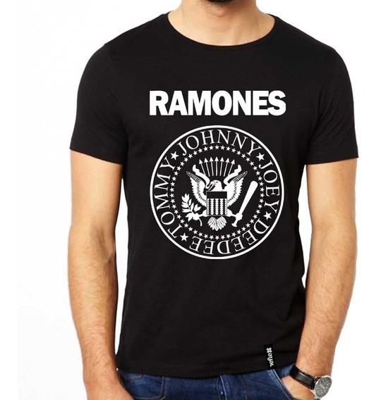 Remera Ramones 100% Algodón Calidad Premium