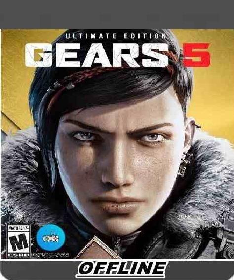 Gears Of War 5 ( Mídia Física ) Pc - Dvd Frete Gratis