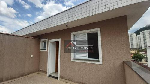 Imagem 1 de 16 de Casa À Venda, 160 M² Por R$ 650.000,00 - Marapé - Santos/sp - Ca0134