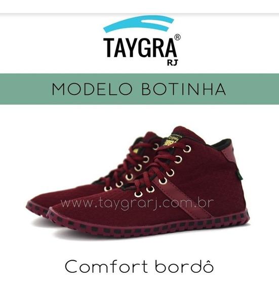 Tenis Taygra Modelo Comfort Botinha Bordo