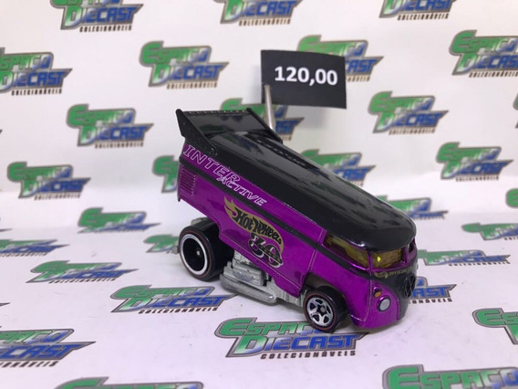 Vw Volkswagen Drag Bus Interactive 30 Years Hot Wheels Loose