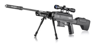 Carabina De Pressão Black Ops Gr 5,5mm C/ Luneta 4x32 Poly