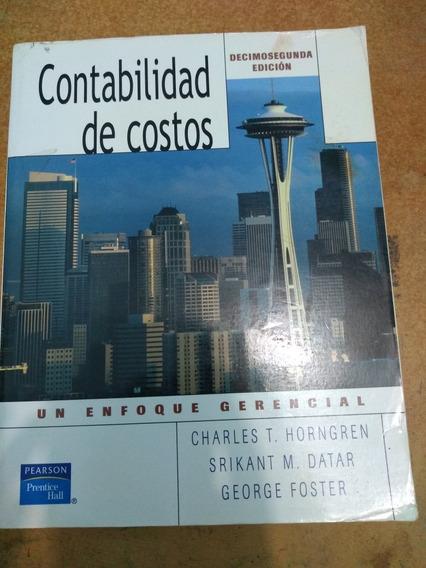 Libro Contabilidad De Costos Pdf Usado En Mercado Libre M Xico