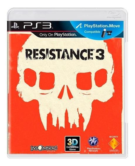 Resistance 3 Ps3 Mídia Física Pronta Entrega