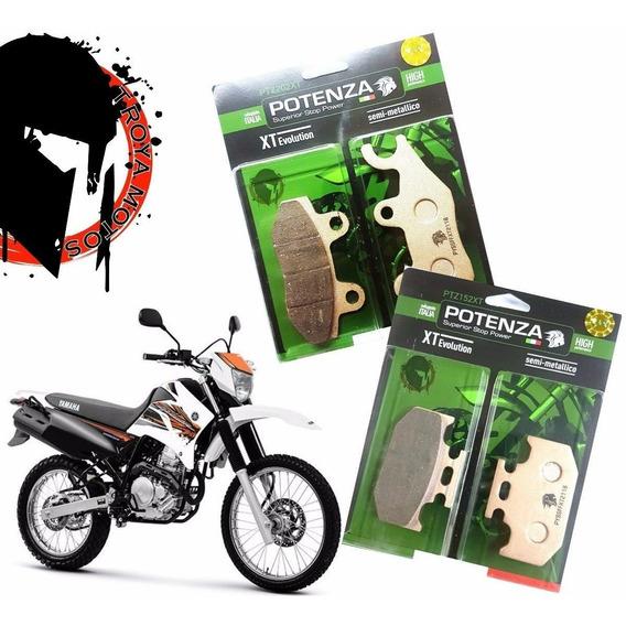 Kit Pastilhas Freio Tenere 250 Potenza 202 152 Troya Motos