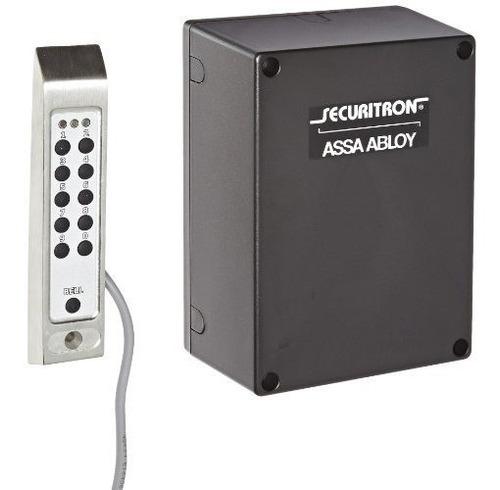 Sistema De Teclado Digital De Acero Inoxidable De Securitron