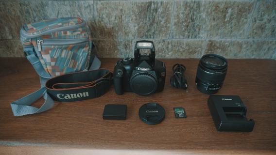 Canon T3 + Bolsa + Lente Kit + Cartão 16gb + A Vista 1100,00