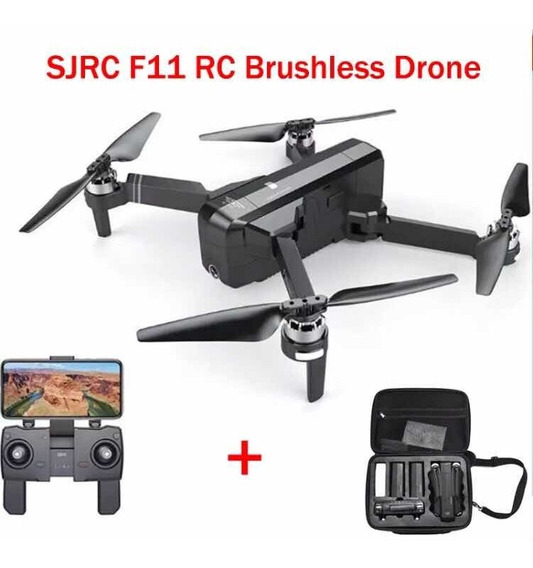 Drone Sjrc F11, Gps 1km, Full Hd + Bateria Extra + Maleta