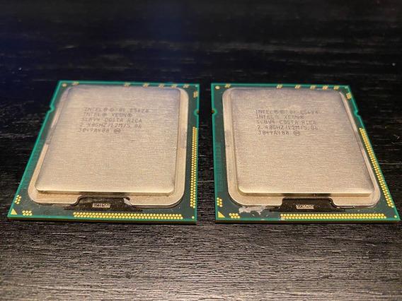 2 Processadores Intel Xeon E5620 Lga1366 Macpro - 8 Core Par