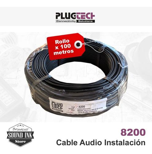 Plug-tech - Cable Audio Instalación Fija - Profesional X100m