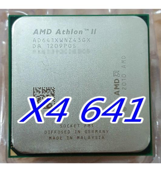 Processador Athlon Il X4 641 2.8 Ghz/quad-core/ Socket Fm1