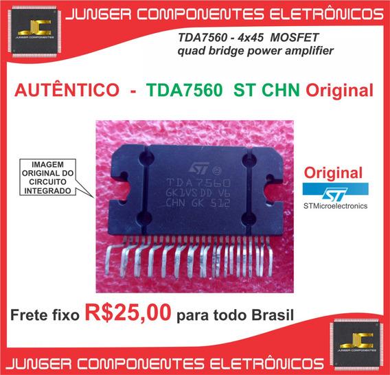 Tda7560 - Tda 7560 -tda7560 - Original St Chn