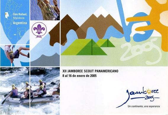 Postal Oficial De Correo Argentino - Jamboree 2005