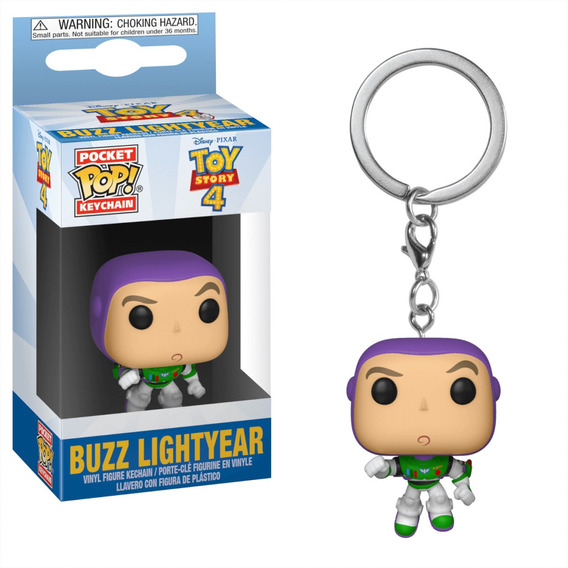 Llavero Funko Pop Buzz Lightyear Toy Story Disney Pocket
