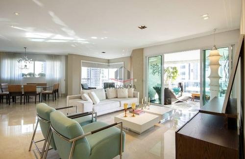 Apartamento Alto Padrão Para Venda No Bairro Jardim Anália Franco, 4 Dorm, 3 Suíte, 4 Vagas, 257,76 M - 1669