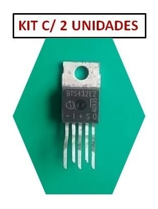 Bts432e2 ( Kit C/ 2 Unidades) Transistor Profet Bts432 E2