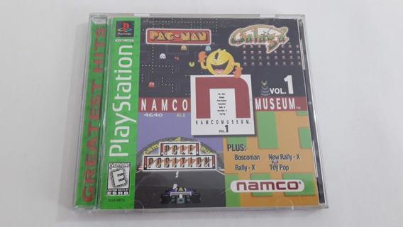 Ps1 Namco Museum Vol. 1 Funcionando 100% #713