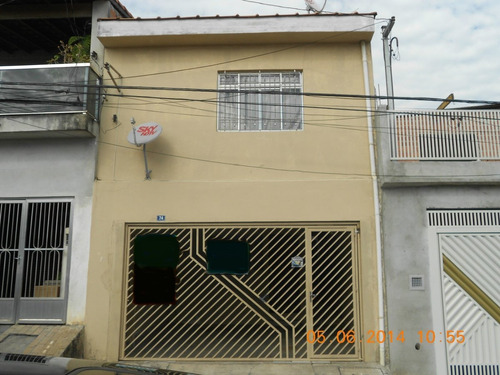 Sobrado A Venda No Bairro Jardim Bela Vista Em Guarulhos - - 127-1