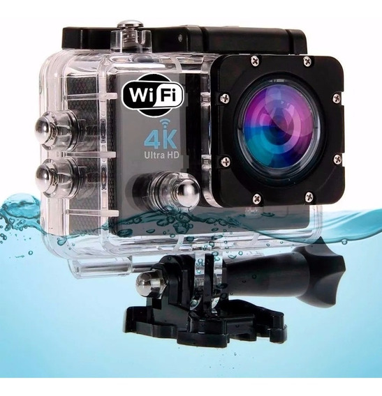 Kit 2 Camera Filmadora 4k Digital Esporte Full Hd Mergulho