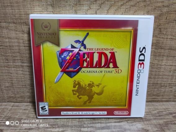 The Legend Of Zelda Ocarina Of Time Nintendo 3ds - Lacrado