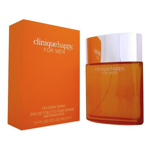 Imagen 1 de 1 de Perfume Caballero Clinique Happy 100 Ml Edt Original Usa