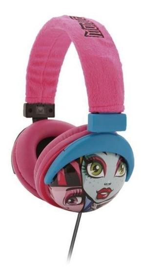 Fone De Ouvido Monster High Headset Infantil Multilaser