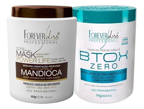 Forever Liss Botox Zero Kg + Mascara De Mandioca Kg