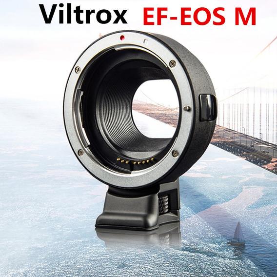 Viltrox Ef-eos M Mount Anel Adaptador Para Canon Ef Lente Pa