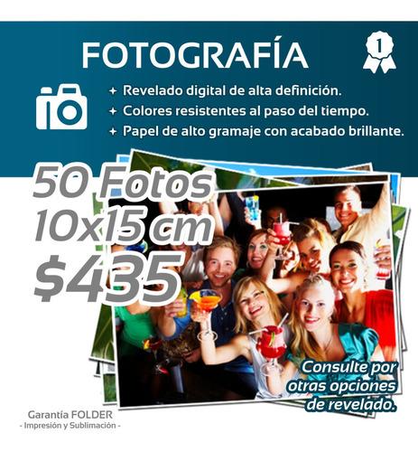 *** Revelado Digital 50 Fotos 10x15 - Fotografía Digital **