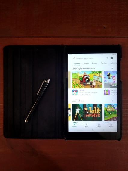 Samsung Galaxy Tab A8 32gb + Capa Giratória + Caneta