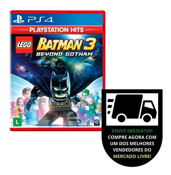 Lego Batman 3 Beyond Gotham Ps4 Dublado Em Português