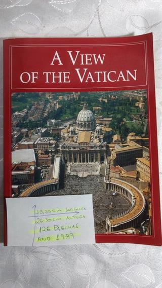 Livro Ilustrado Em Inglês A View Of The Vatican