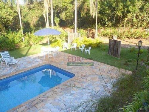 Imagem 1 de 5 de Chácara Com 3 Dormitórios À Venda, 2500 M² Por R$ 600.000,00 - Iara - Atibaia/sp - Ch0347