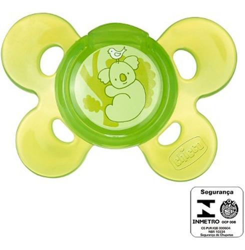 Chupeta Comfort  12m+ Neutra Verde Chicco 749153