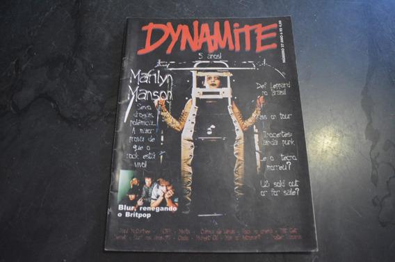 Dynamite 27 Marilyn Manson Revista