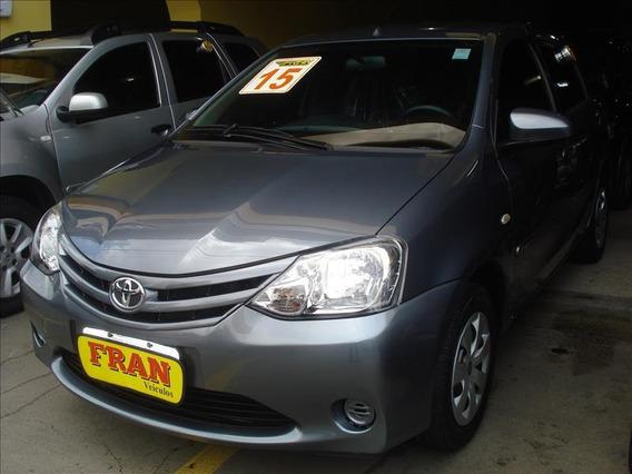 Toyota Etios Xs Motor 1.5 2015 Cinza
