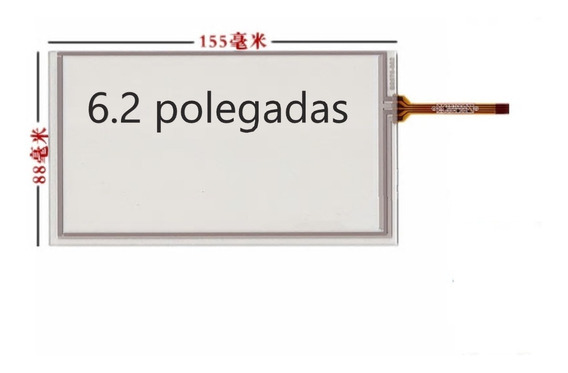 Tela Touch Screen 6.2 Polegadas Multimidia Aikon Winca