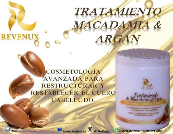 Revenux Crema Capilar De Argan Y Macadamia.
