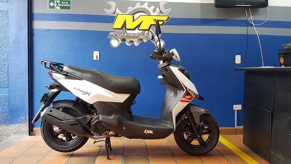 Sym Crox 125 Modelo 2018 Perfecto Estado!!!