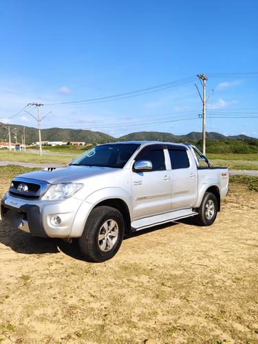 Imagem 1 de 10 de Toyota Hilux 2010 3.0 Srv Cab. Dupla 4x4 Aut. 4p