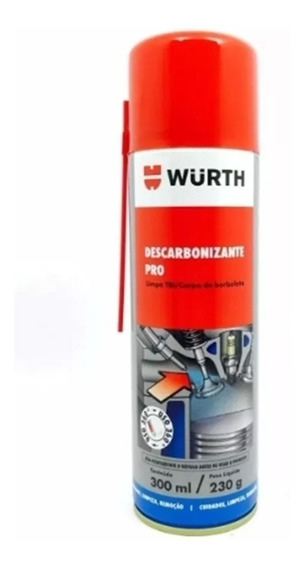 Descarbonizante Limpa Tbi Pro E Carburador Wurth